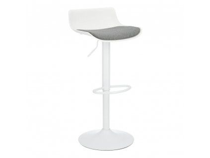 Barová stolička Bar One Tap Simplet bílý matný