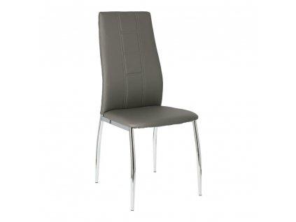 Sada 2 židlí Venus tmavě šedá
