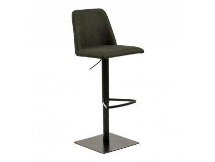 Barová stolička Avanja olivově zeleny