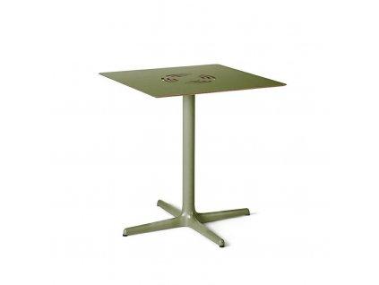 Stůl Toledo Aire 70x70 zelený