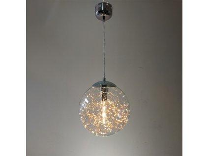 Lampa závěsná Glamour průměr 30
