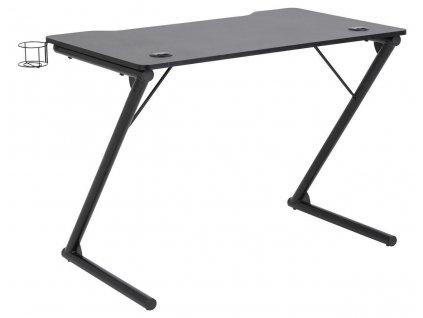 Psací stůl pro hráče Trooper černý