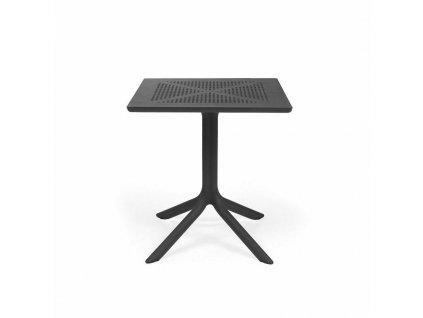 Stůl Clip 70x70 antracitový