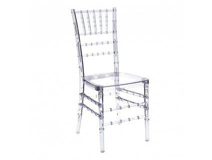Židle transparentní Chiavari