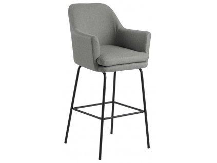 Barová stolička Chisa světle šedý