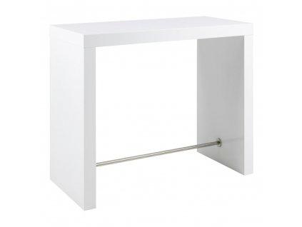 Stůl barový Block bílý