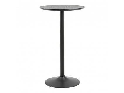 Stůl barový Ibiza černý