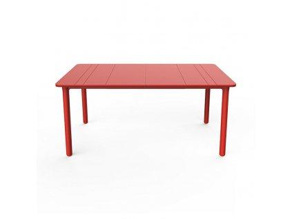Stůl Noa červený 160x90