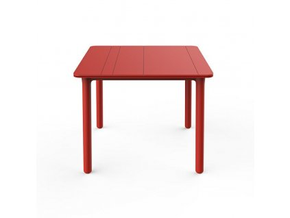 Stůl Noa červený 90x90