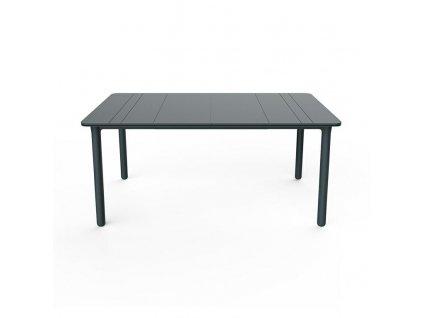 Stůl Noa tmavě šedý 160x90