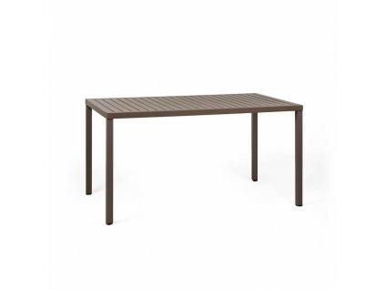 Stůl Cube 140x80 kávový