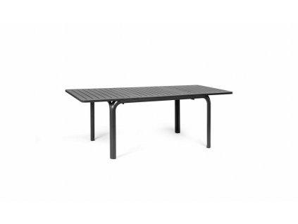 Stůl Alloro 140x100 antracitový