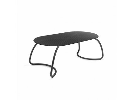 Stůl Loto 190x100 antracitový