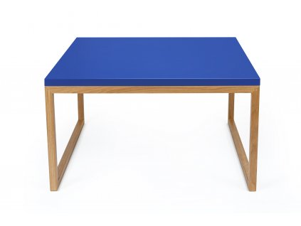 Cubis #60 kávový stolek dub/Pantone Blue