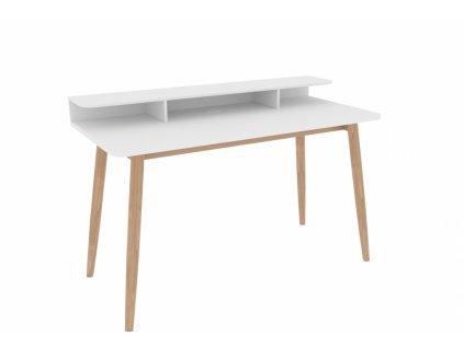 Farsta stůl bílý/ dub