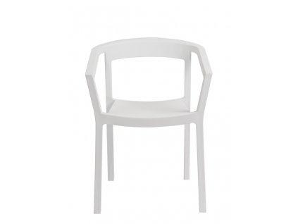 Židle Peach bílá