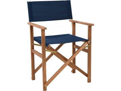 Židle režisérská Fame modrá