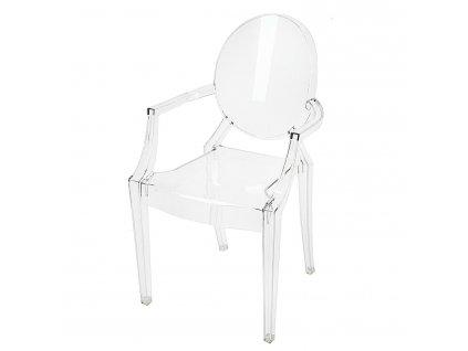 Židle Royal transparentní