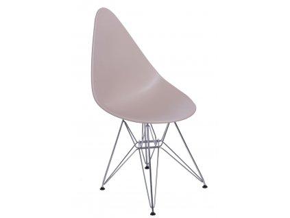 Židle Rush DSR béžová