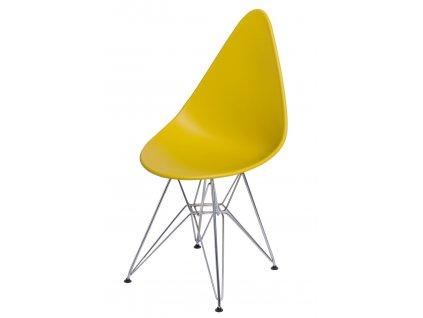 Židle Rush DSR olivová