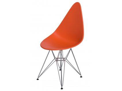 Židle Rush DSR oranžová