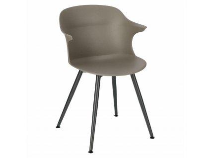 Židle Skal antracitová