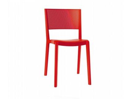 Židle Spot červená