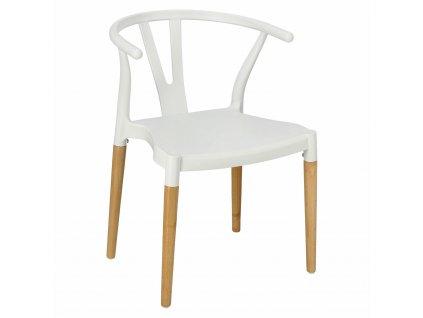 Židle Wicker PP Simplet bílá