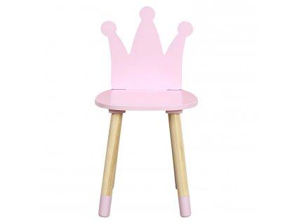 Židle dětská Puppe růžová