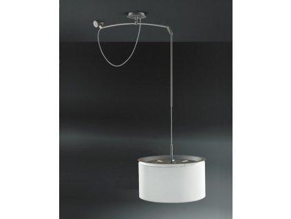 Lampa Finger Move stínidlo béžové, průměr 45 cm