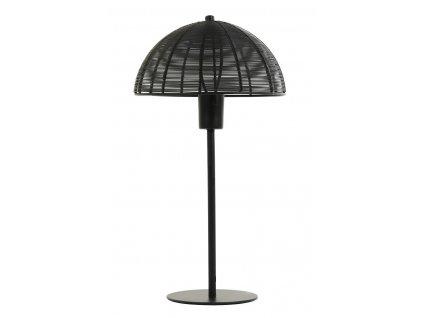 Lampa stolní Klobu černá mat 35x45