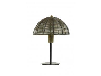 Lampa stolní Klobu zlatá mat 25x33