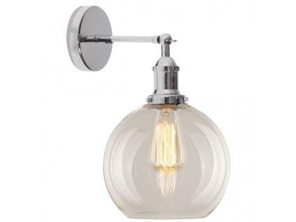 Nástěnná lampa New York Loft 2 chrom