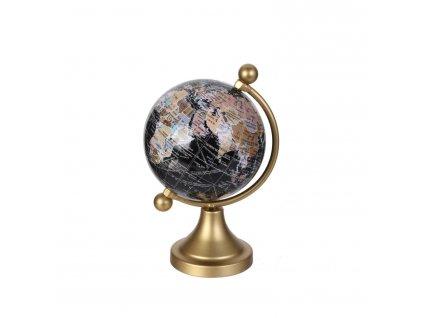 Globus dekorační malý zlatý