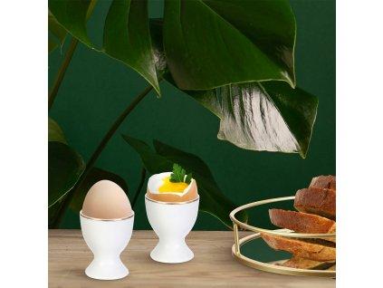 Podstavec na vajíčko Pearl Gold