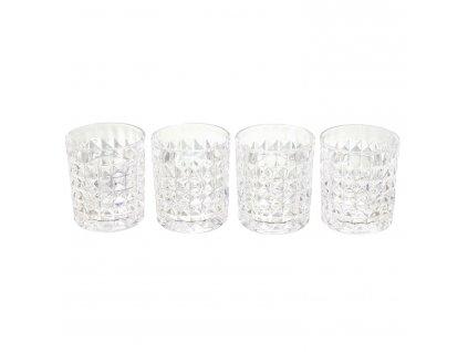 Sada 4 sklenic na Whisky Topacio