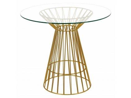 Stůl Cage zlatý