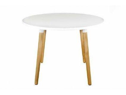 Stůl Copine bílá deska 110cm