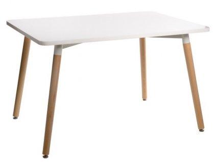 Stůl Copine bílá deska 120x80 cm