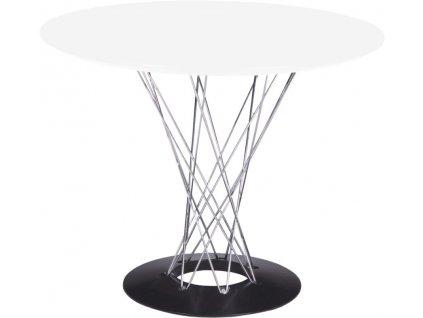 Stůl Cyklon kulatý, bílý