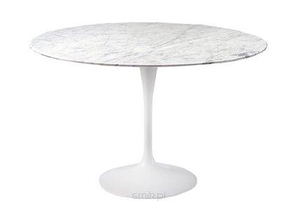 Stůl Fiber průměr 120 mramor