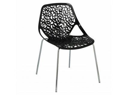 Židle Cepelia černá