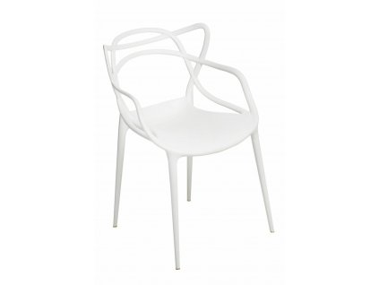 Židle Lexi bílá inspirovaná Master chair