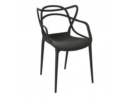 Židle Lexi černá inspirovaná Master chair