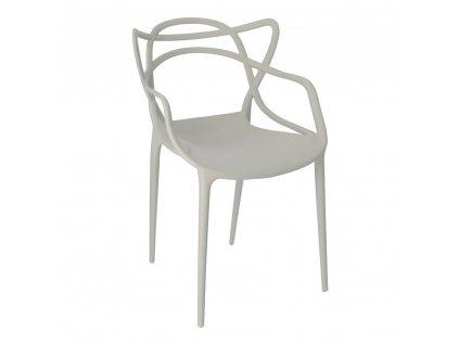 Židle Lexi šedá inspirovaná Master chair