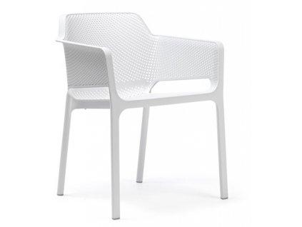 Židle Net bílá
