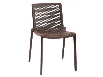 Židle Netkat čokoládová