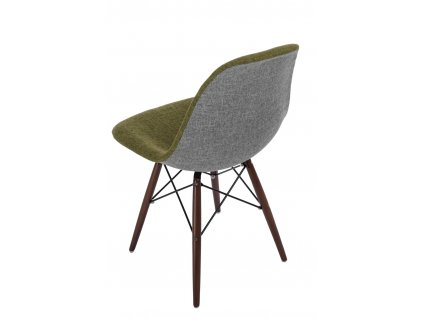 Židle P016V Duo zelenošedá /dark
