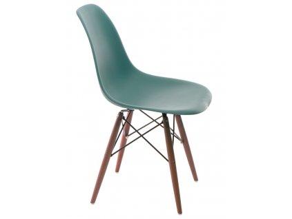 Židle P016V PP námořní zeleň/dark
