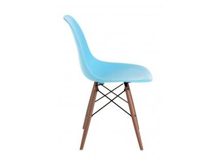 Židle P016V PP oceánská modř/dark